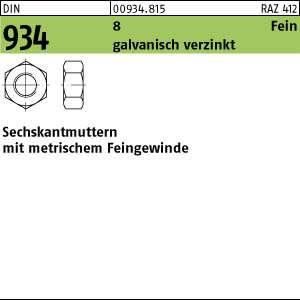 Messing galv vernickelt 10x DIN 934 Sechskantmuttern M 5