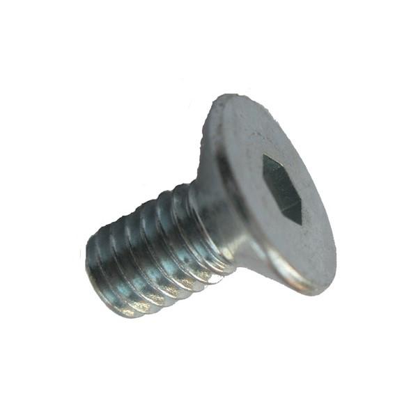 25 Inbus Senkkopfschrauben ISO 10642 8.8 schwarz M20x50