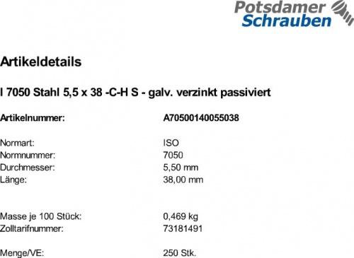 mit Spitze 4,8x13 - - Form C - 50 St/ück ISO 14586 Innensechsrund Antrieb TX - DIN 7982 Blechschrauben mit Senkkopf - Edelstahl A2 V2A SC7982